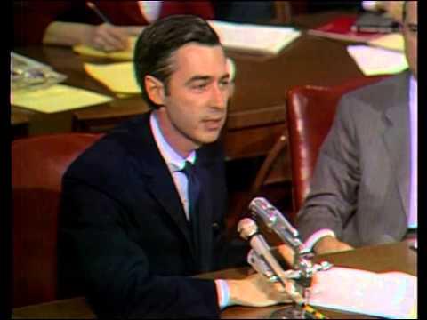 Mr. Rogers Speaks to the Senate