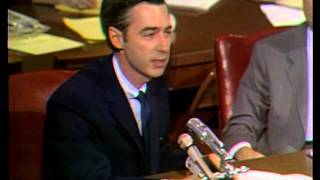 May 1, 1969: Fred Rogers testifies before the Senate Subcommittee on Communications