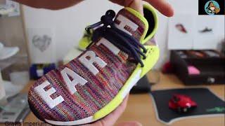 556ca057c Noble Ink Adidas Originals Pharrell Williams HU NMD TR Boost EARTH BODY  HUMAN  RACE  - mp3toke