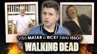 RICK VAI SAIR DE THE WALKING DEAD? - Entenda