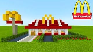 "Minecraft Tutorial: How To Make A McDonalds (Restaurant) ""2019 City Tutorial"""