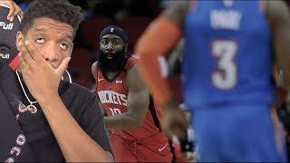 Houston.. We Have a BIG PROBLEM! Houston Rockets vs OKC Thunder Full Game Highlights