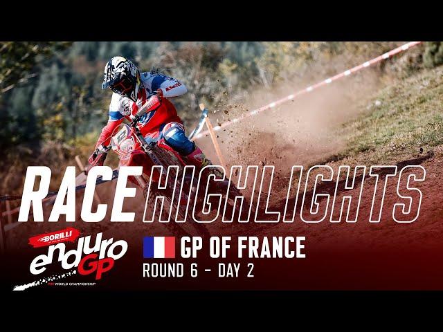 Vidéo EnduroGP 2021 France J2