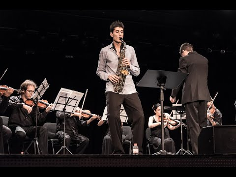 Maurici Esteller Barberà Andorra SAX FEST'14 Final Concurs