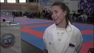 Капитан молодежной сборной России по карате рассказала о своем участии в первых крупных состязаниях после пандемии