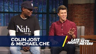 Having Colin Jost and Michael Che on an IDEAS Festival Panel Was a Bad Idea