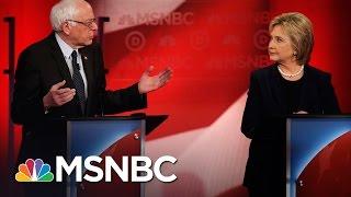 Bernie Sanders, Hillary Clinton Spar Over Being A Progressive   Democratic Debate   MSNBC