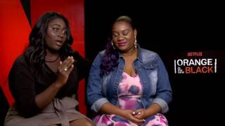 Danielle Brooks & Adrienne Moore | ORANGE IS THE NEW BLACK | with Scott Carty