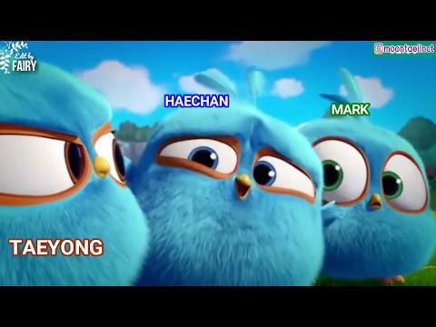 NCT 127 - Angry Birds Blues - TAEYONG MARK HAECHAN