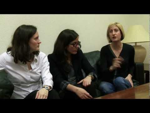 Entrevista a las ponentes de la mesa sobre patología dual (Madrid, 7 de abril de 2011)