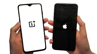 OnePlus 6T vs iPhone XS Max Speed Test, Cameras & Speakers!