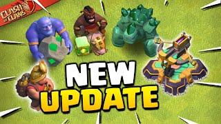 Update Sneak Peeks - New Troop and Defense Levels (Clash of Clans)