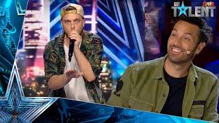 Los sonidos de esta actuación de BEATBOX te van a ALUCINAR   Audiciones 5   Got Talent España 2021