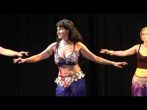 Dania Leily Libanoni pop - Romás tánc - Gülbahar Hastánc Stúdió gála - 2010