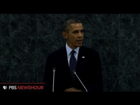 Watch President Obama address the UN General Assembly thumbnail