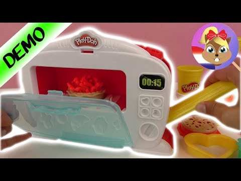 video Play-Doh Kitchen Creations magische oven