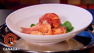 How To Cook Butter-Poached Maritime Lobster | MasterChef Canada | MasterChef World