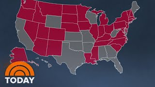 More Than 20 States Set Records For New Coronavirus Infections | TODAY