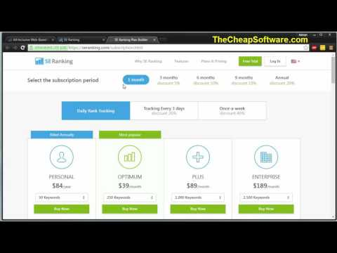 SE Ranking Review + Secret Coupon 2016  Watch Before you buy SEO Rank Tracker