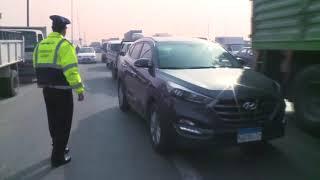 حملات مرورية على الطريق الدائرى تنفيذا لتوجيهات السيد وزير الداخلية ...