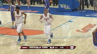 NCAA Basketball 10 Season 2017 2018 Kentucy Wildcats vs Florida Gators 03 03 2018