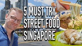 Best Singapore food tour guide 2019, exploring Hawker center
