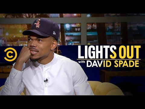 Chance The Rapper Explains How to Get Into Kanye's Sunday Service - Lights Out with David Spade