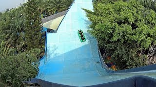 Boomerang Water Slide at Dam Sen Water Park