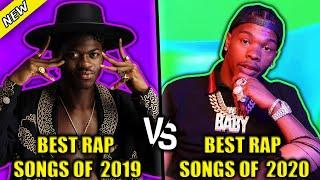 BEST RAP SONGS OF 2019 VS BEST RAP SONGS OF 2020