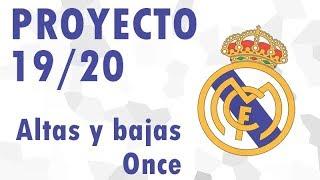 Qué haría con REAL MADRID 19/20 | Plantilla del nuevo ciclo de Zidane con posible alineación