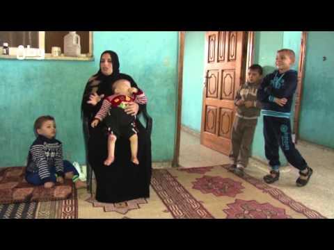 غزة: زهوة الجعل.. حرقت قذائف الاحتلال قلبها وأطفالها العشرة