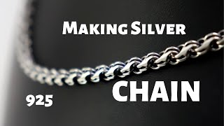 Making Silver Chain for Cross | Dynamis Jewelry