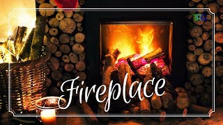 Crackling Fireplace with Relaxing Classical Music   Romantic Classical Background Music Hi-Fi