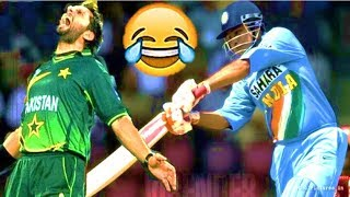 Cricket Funny Moments Pakistan Vs India Great Sledging