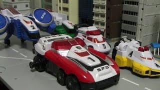 đồ chơi siêu nhân deka Power Rangers SPD Toys 파워레인저 SPD 장난감
