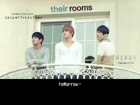 ENG SUB] 110131 JYJ Nine   their rooms