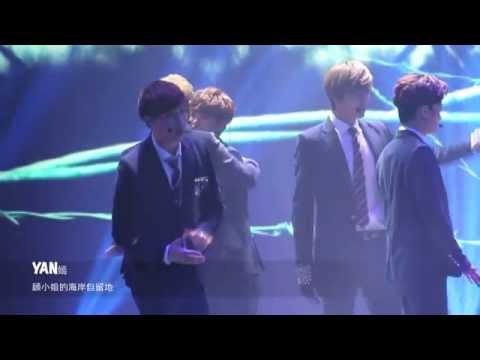 [Fancam] 140118 EXO-M Luhan & Tao playing hand slapping game (Taohan) @ CNTV Spring Festival