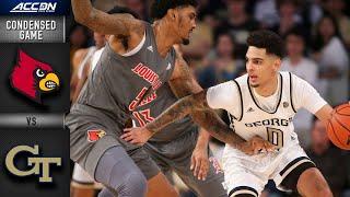 Louisville vs. Georgia Tech Condensed Game | ACC Basketballl Highlights (2019-20)