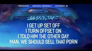 MotorSport - Migos (lyrics)