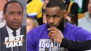 Failure to land Anthony Davis puts pressure on Lakers this summer – Stephen A. | First Take