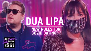 DUA LIPA Has 'New Rules' For COVID Dating