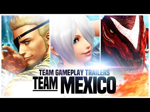 THE KING OF FIGHTERS XIV: Team Mexico
