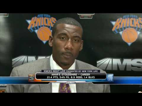 Amar'e Stoudemire Interview - YouTube