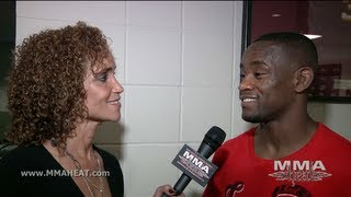 UFC ON FOX 5 Yves Edwards Post-Fight Interview