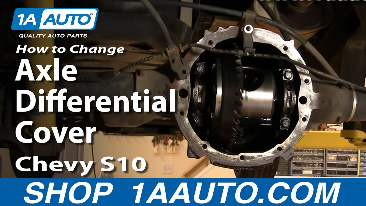1AAuto Auto Repair Change Rear Axle Differential Cover Oil ...