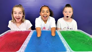 GELLI BAFF TOY CHALLENGE GAME!! Alien Baby Slime | Toys AndMe