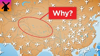 Why Planes Don't Fly Over Tibet
