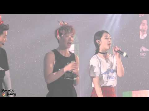 131225 SM WEEK EXO LAY Jingle Bell Rock~♬ (레이&설리)