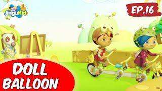 Van Dogh English | Doll Balloon | Preschool Learning Videos