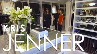 Million Dollar Closets /  Kris Jenner's Closet - LA Closet Design